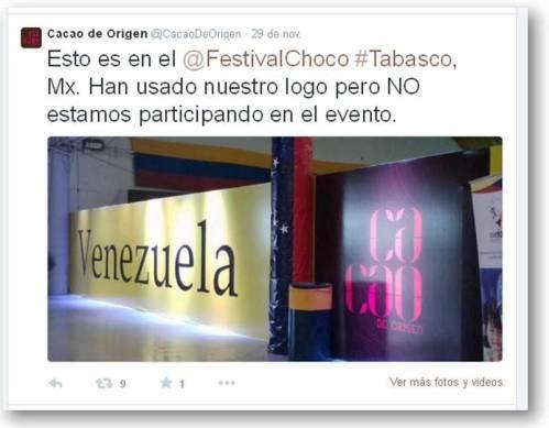 cacao de origen tabasco twiter